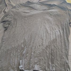 Gray Lacoste Shirt